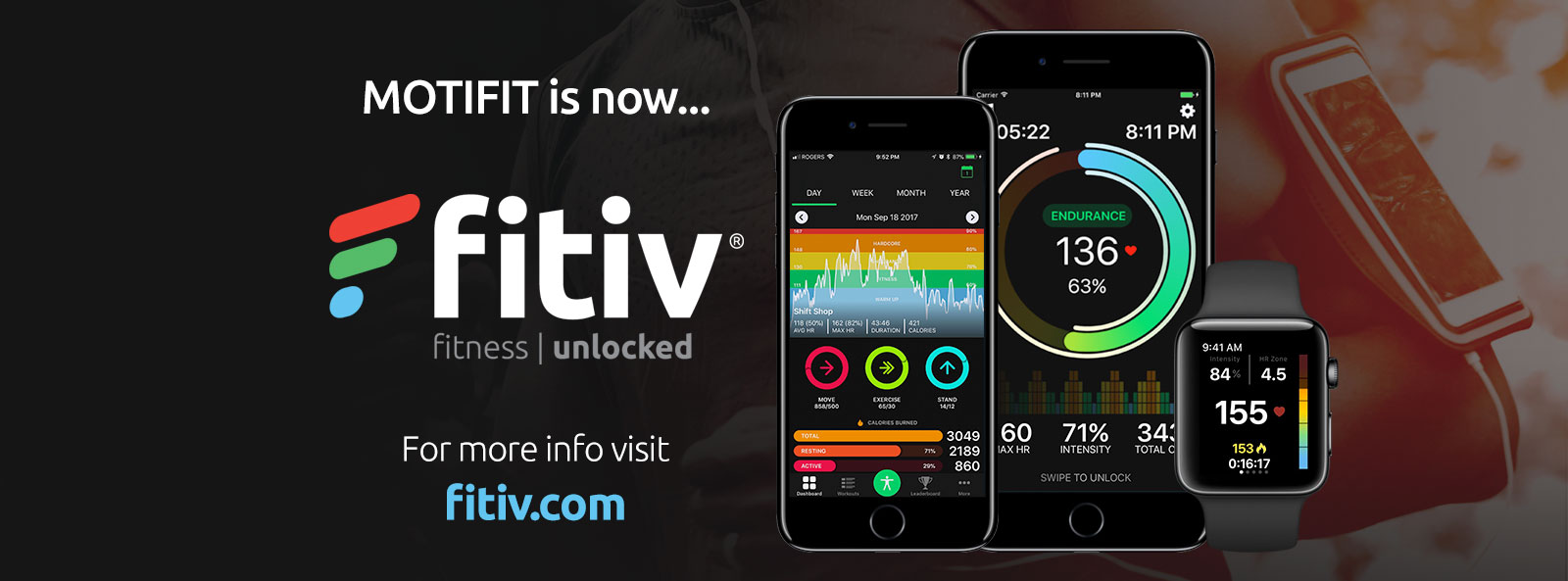 MotiFIT is now FITIV! For more info visit FITIV.com
